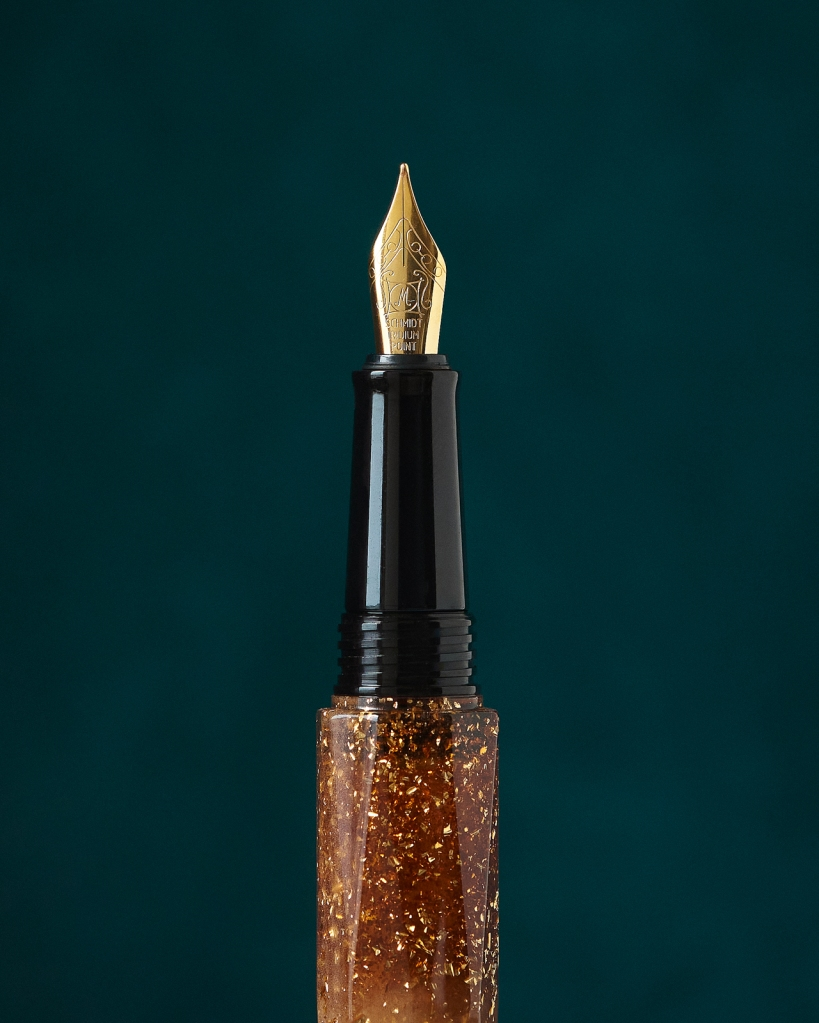Closeup of Been Briolette fountain one and Nib
