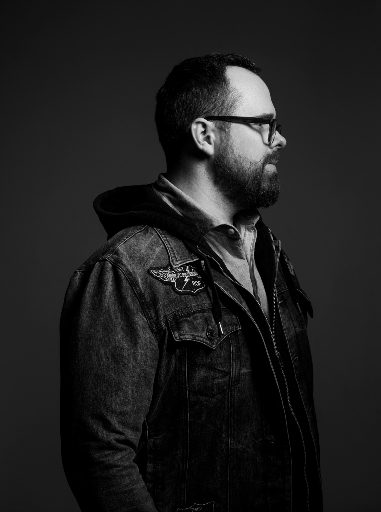 A portrait of buffalo NY based commercial and editorial photographer Luke Copping